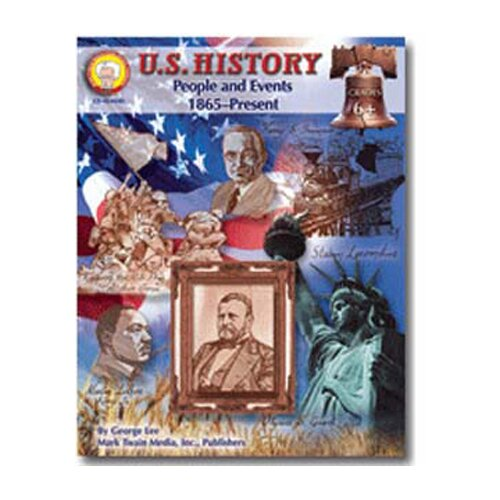 Frank Schaffer Publications/Carson Dellosa Publications Us History People & Events 1865-