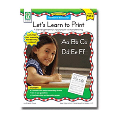 Frank Schaffer Publications/Carson Dellosa Publications Lets Learn To Print Traditional