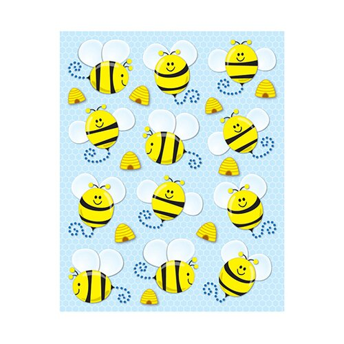 Frank Schaffer Publications/Carson Dellosa Publications Bees Shape Stickers 72pk