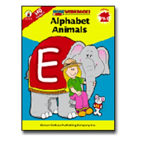 Frank Schaffer Publications/Carson Dellosa Publications Alphabet Animals Home Workbook