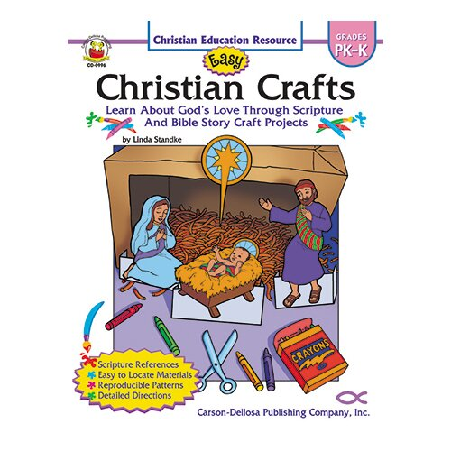 Frank Schaffer Publications/Carson Dellosa Publications Easy Christian Crafts Gr Pk-k