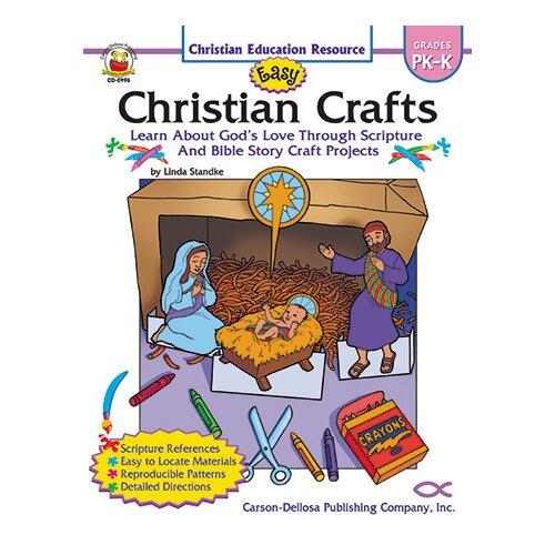 Frank Schaffer Publications/Carson Dellosa Publications Easy Christian Crafts Gr Pk-k