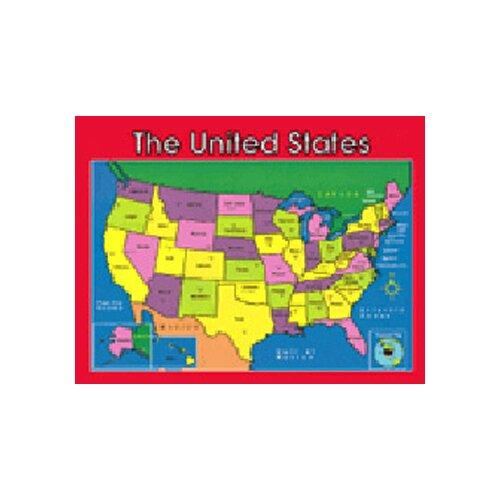Frank Schaffer Publications/Carson Dellosa Publications Chartlet Us Map 17 X 22