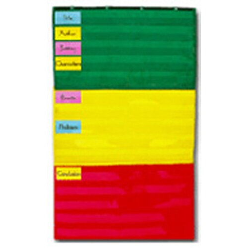 Frank Schaffer Publications/Carson Dellosa Publications Pocket Chart Adjustable 34 X 60