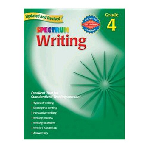 Frank Schaffer Publications/Carson Dellosa Publications Writing Gr 4