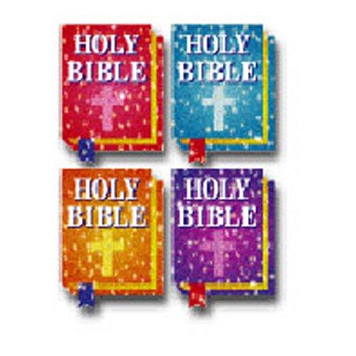 Frank Schaffer Publications/Carson Dellosa Publications Dazzle Stickers Bibles 120/pk Acid