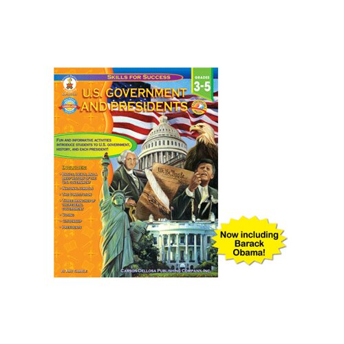Frank Schaffer Publications/Carson Dellosa Publications Us Government And Presidents Gr 3-5