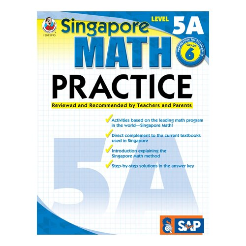 Frank Schaffer Publications/Carson Dellosa Publications Math Practice Level 5a Gr 6