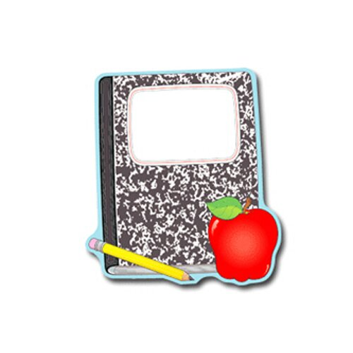 Frank Schaffer Publications/Carson Dellosa Publications Composition Book And Apple