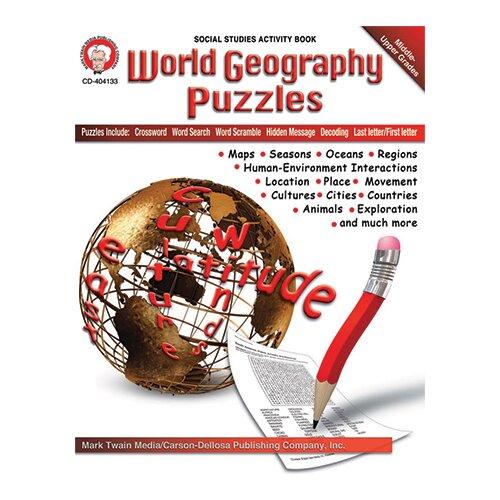 Frank Schaffer Publications/Carson Dellosa Publications World Geography Puzzles Bb Set