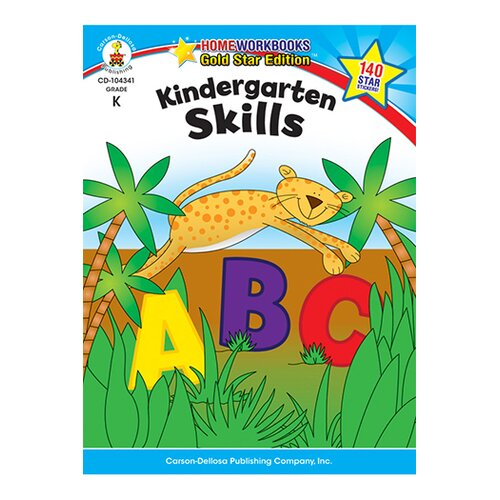 Frank Schaffer Publications/Carson Dellosa Publications Kindergarten Skills Home Workbook