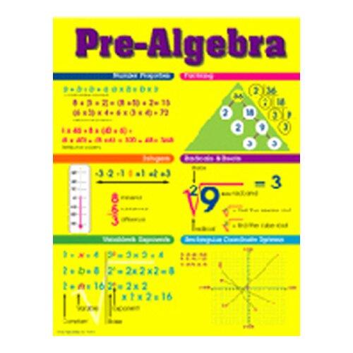 Frank Schaffer Publications/Carson Dellosa Publications Chart Pre-algebra