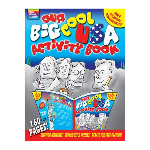 Gallopade The Big Cool Usa Activity Book