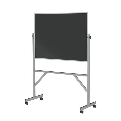 Ghent Aluminum Frame Reversible Duroslate Chalkboard