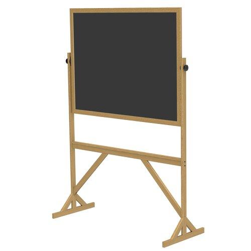 Ghent Wood Frame Reversible Chalkboard