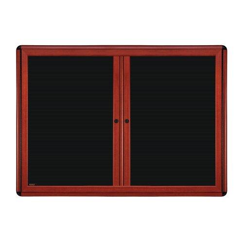 Ghent 2-Door Ovation Changeable Letterboard