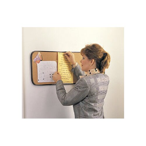 "Ghent 1' 6"" x 2' Bulletin Board"