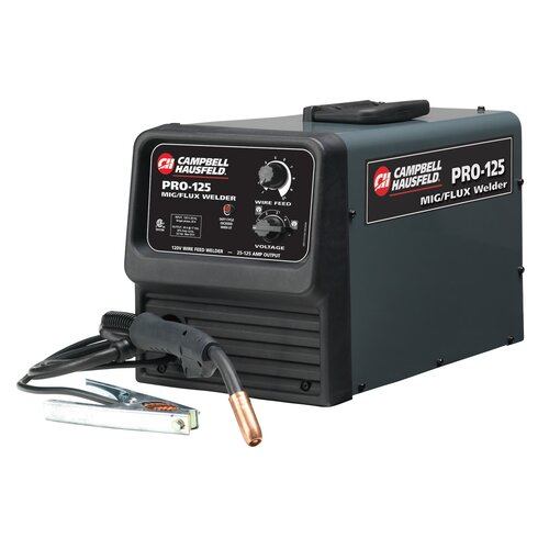 Campbell Hausfeld Professional120V Flux Core Welder 125A