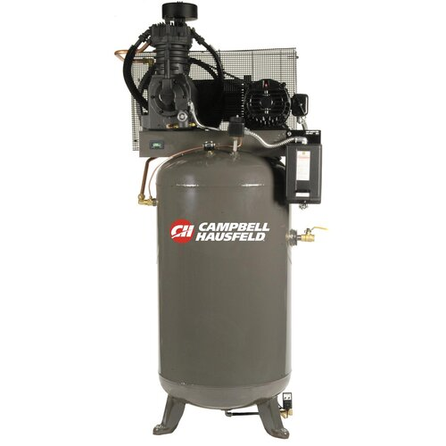 Campbell Hausfeld 80 Gallon 5 HP 230V Two Stage Fully Packaged Air Compressor