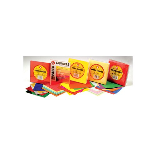 Hygloss Products Inc 5in Tissue Squares Pastel 480 Pcs.