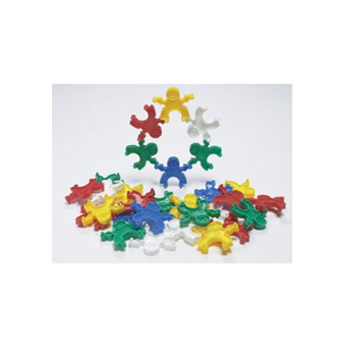 Learning Advantage Pyramid People Blocks 120 Piece Set
