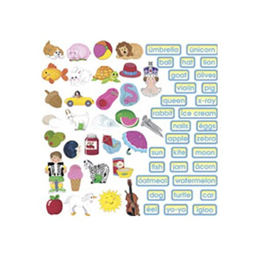 Little Folks Visuals Abc Train Flannelboard Set