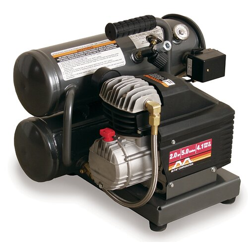 Mi-T-M 5 Gallon Electric Hand Carry Single Stage Air Compressor