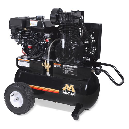 20 Gallon 2 Stage Wheelbarrow Air Compressor