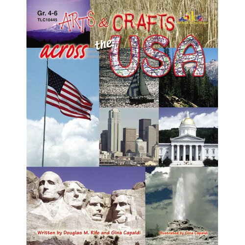 Milliken & Lorenz Educational Press Arts And Crafts Across The Usa