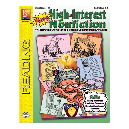Remedia Publications More High-interest Nonfiction