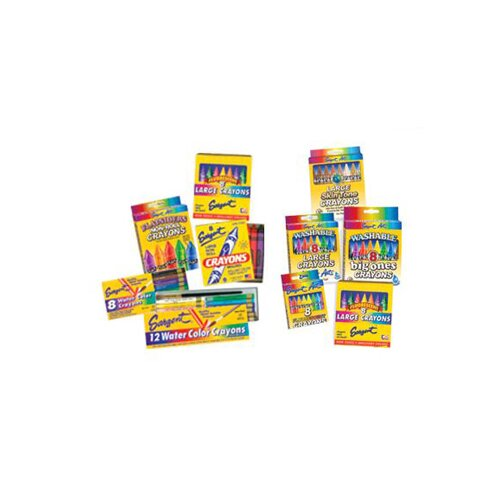 Sargent Art Inc Sargent Art Watercolor Crayons 8cnt