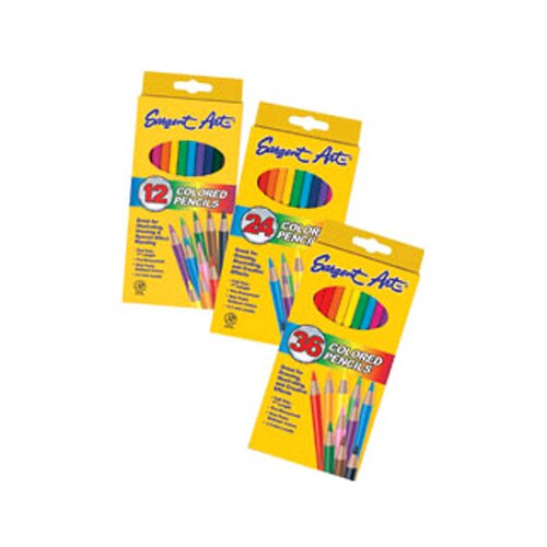 Sargent Art Inc Sargent Art Colored Pencils 12/set