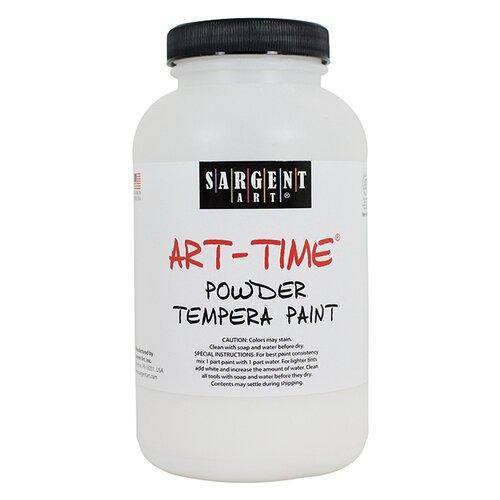 Sargent Art Inc 1lb Gothic Powder Tempera White