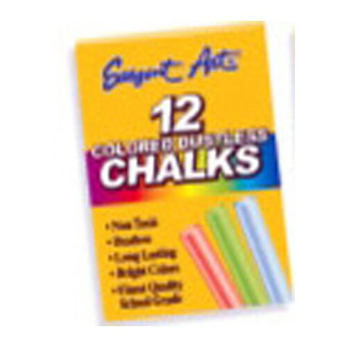 Sargent Art Inc Assorted Dustless Chalkboard Chalk