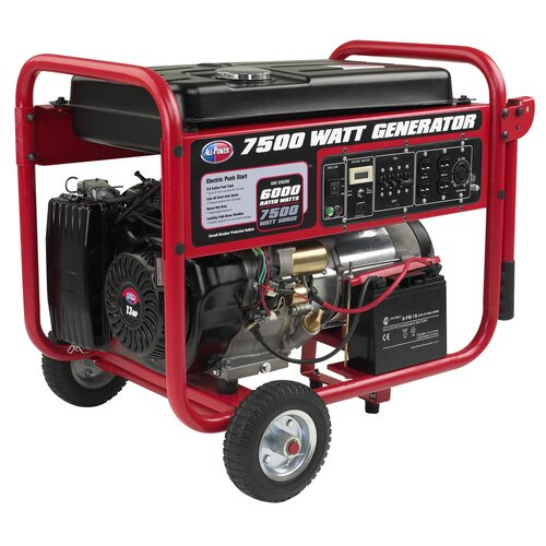 All Power America 7,500 Watt Portable Generator