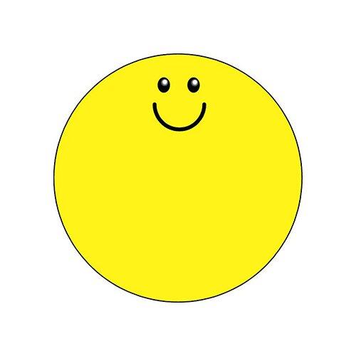 Shapes Etc. Notepad Large Smile