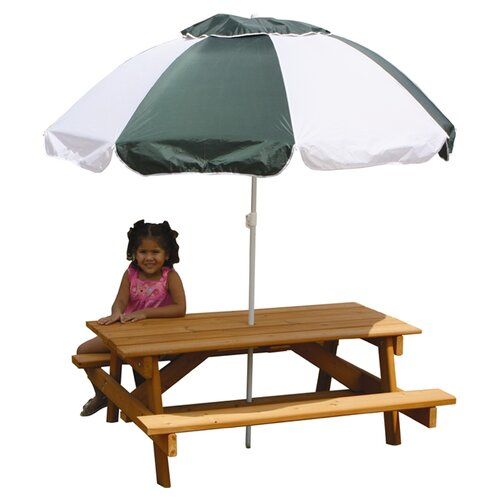 Gorilla Playsets Child's Picnic Table