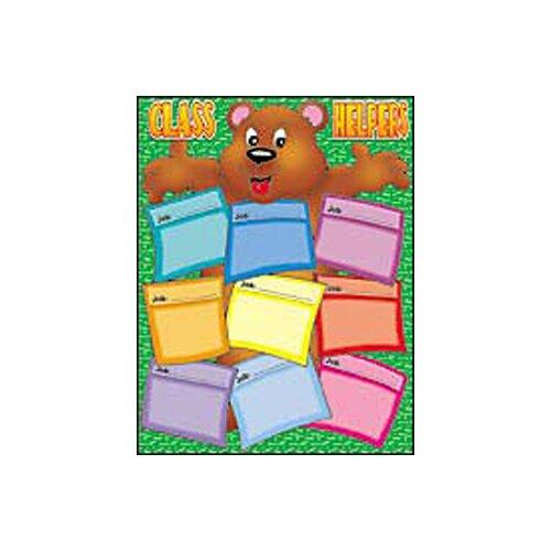 Teachers Friend Bear Helper Friendly Chart