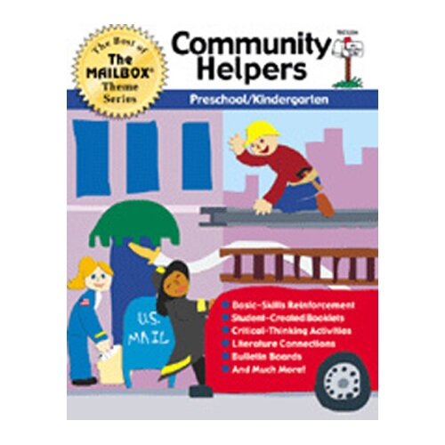 The Education Center Theme Book Community Helpers