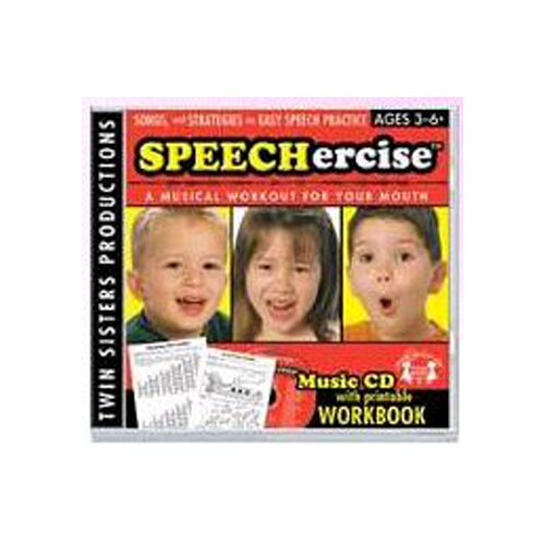 Twin Sisters Productions Speechercise Level 1 Cd