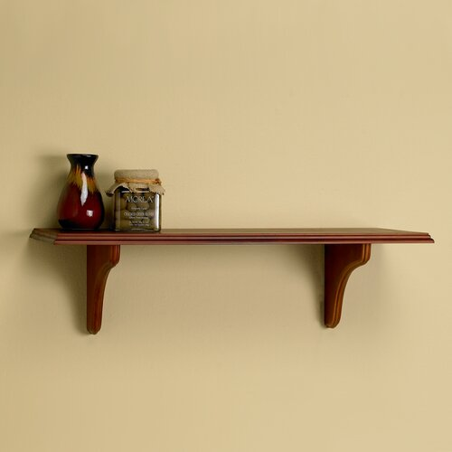 Lewis Hyman Inc. InPlace Bracket Trophy Wood Shelf