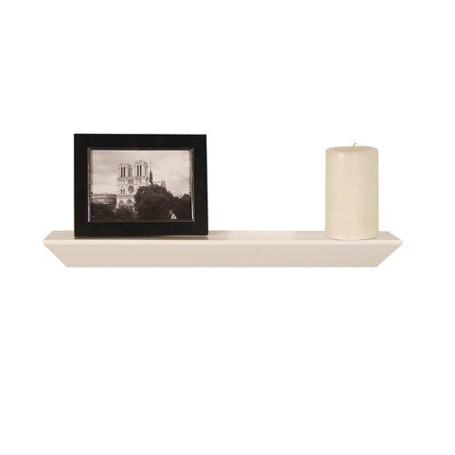 Lewis Hyman Inc. InPlace Floating Decorative Wood Accent Ledge