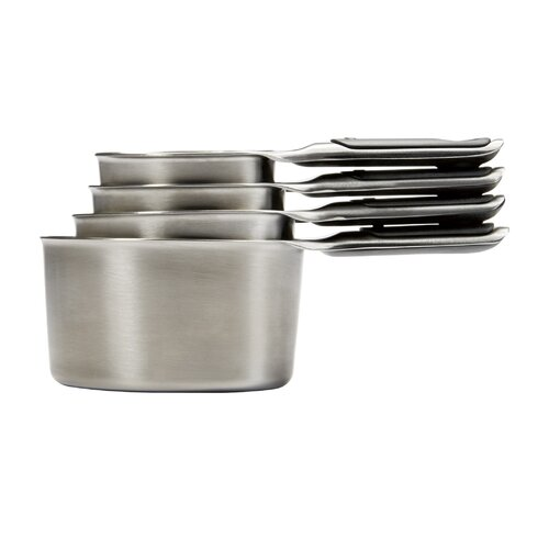 Good Grip 4 Piece Stainless Steel Measuring Cup Set