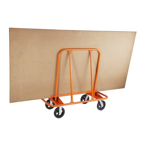 Pentagon Professional Heavy Duty Wall Fetcher Pro Drywall Cart Platform Dolly
