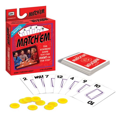 Jax LTD Inc Match Em Card Game