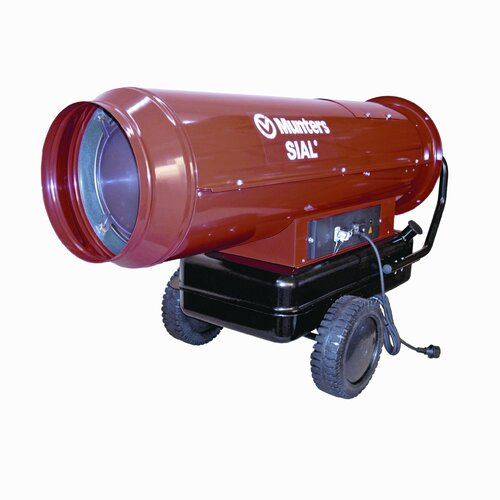 Temporary 227,000 BTU Forced Air Utility Mobile Direct Fired Multi-Fuel Space Heater