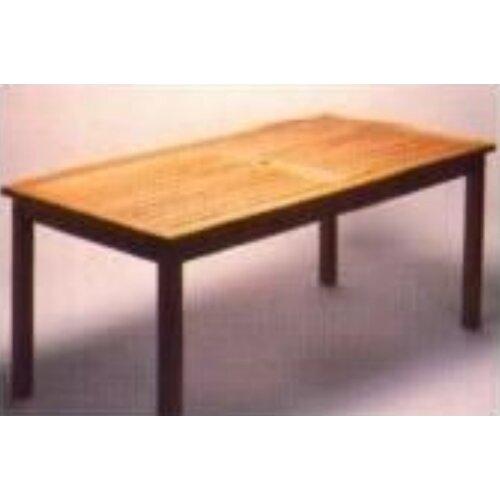 Teakwood Rectangle Bristol Table