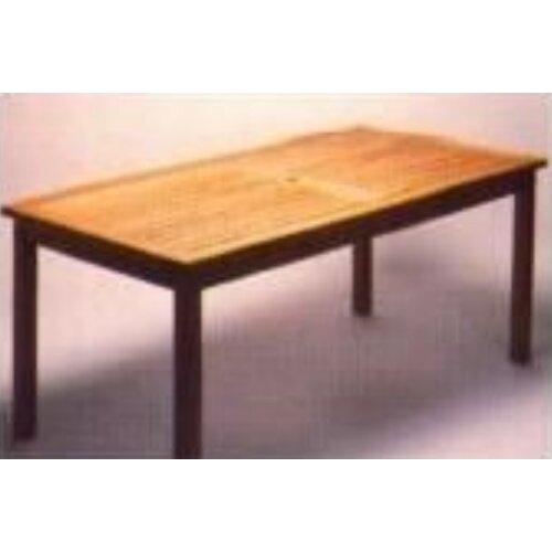 Royal Teak by Lanza Products Teakwood Rectangle Bristol Table