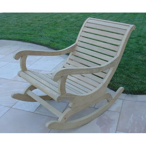 Royal Teak by Lanza Products Roble Wood Rocking Chair