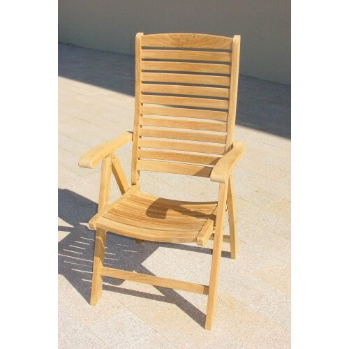 Royal Teak by Lanza Products Teakwood Lounge Chair